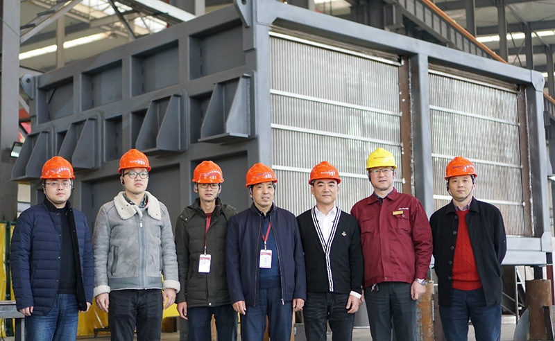 Yangzi Petrochemical and Accessen technical production team1
